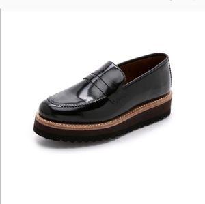 Black Grenson platform loafers sz. 8